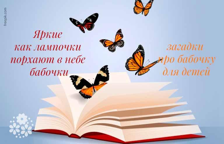 загадка про бабочку для детей