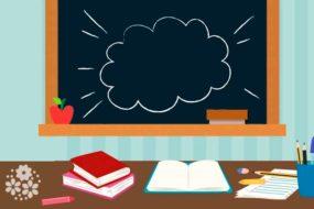 Каждый год школа с радостью дверь открывает. Загадки про школу