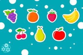 Эти вкусные продукты зовутся одним словом – фрукты! Загадки про фрукты для детей