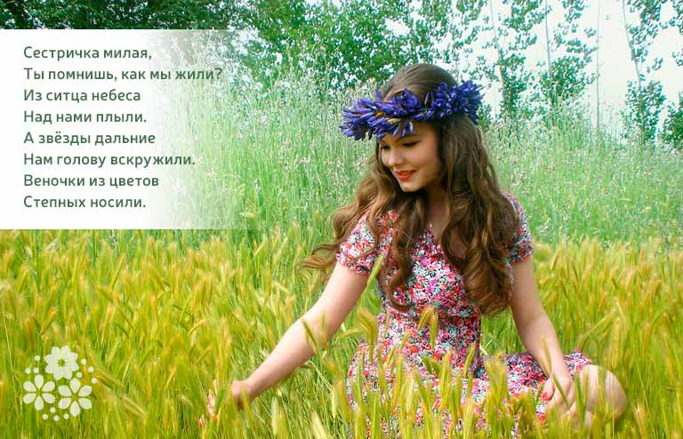 Красивые стихи с Днём рождения двоюродной сестре