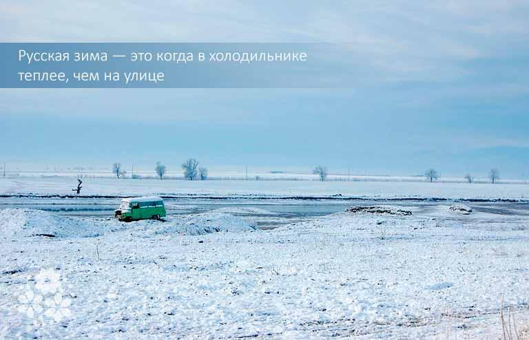 Смешные цитаты про зиму