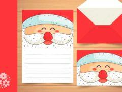 У него в мешке подарки, а на шубе пояс яркий… Пишем письмо Деду Морозу