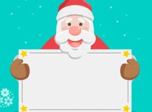 Борода и красный нос – это Дедушка Мороз! Стихи для детей про Деда Мороза