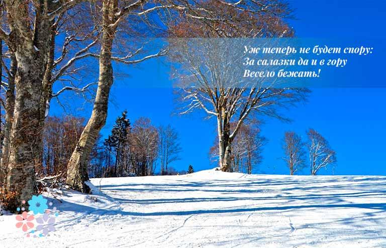 Стихи о начале зимы русских поэтов