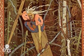 Живет в длинноногой избушке одна хулиганка старушка… Загадки про Бабу-Ягу для детей