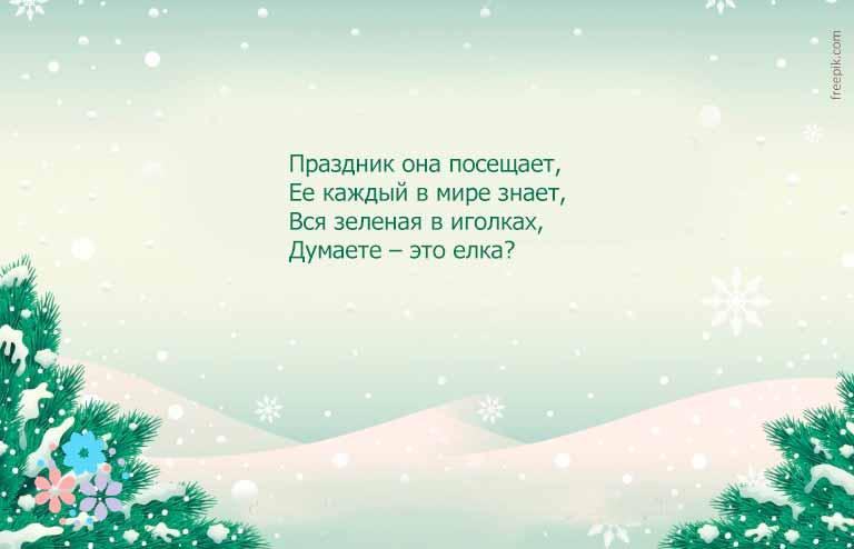 Смешные новогодние загадки с подвохом