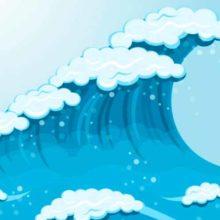 Он гуляет на просторе и волнует сине море. Загадки про ветер для детей