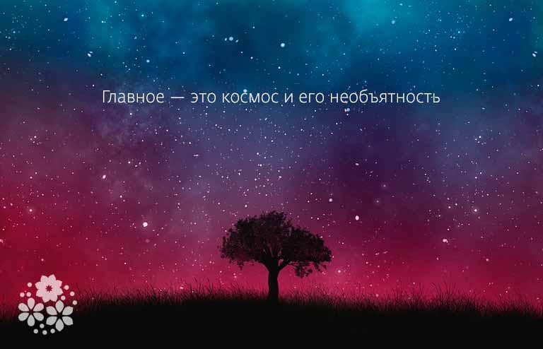 Цитаты про космос и звезды