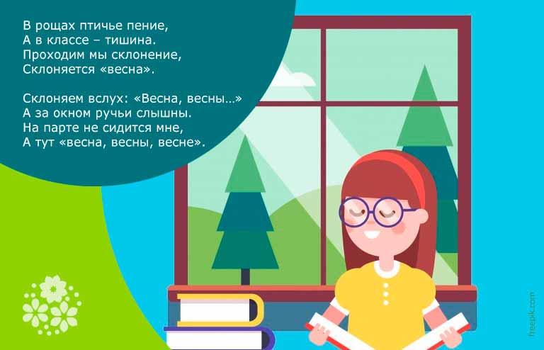 Красивые стихи про весну для детей 1-2 класса