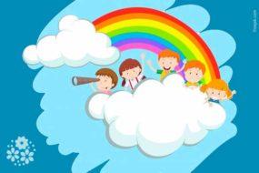 Семицветная дуга заслонила облака. Загадки про радугу для детей