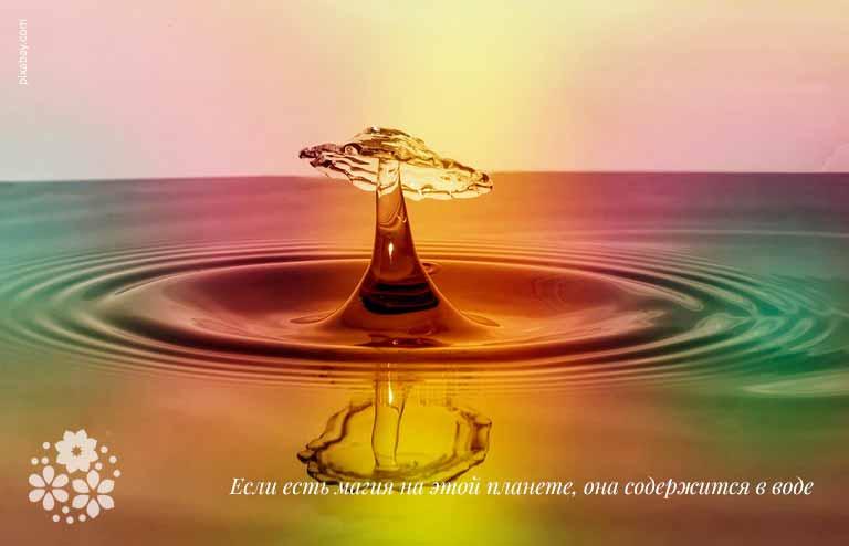 Цитаты и афоризмы о воде великих людей