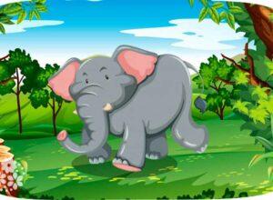 Это что за великан держит в хоботе фонтан? Загадки про слона для детей
