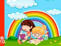 Вот волшебная дуга – семицветная радуга. Стихи про радугу для детей