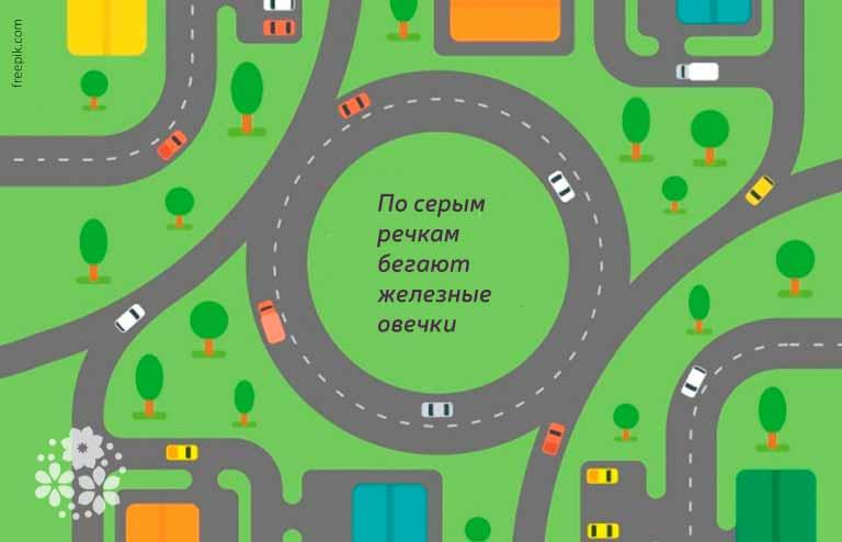 Сложные загадки про машины для детей 6-7 лет