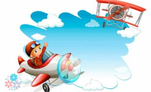 Птица железная в небе летит… Загадки про самолет для детей