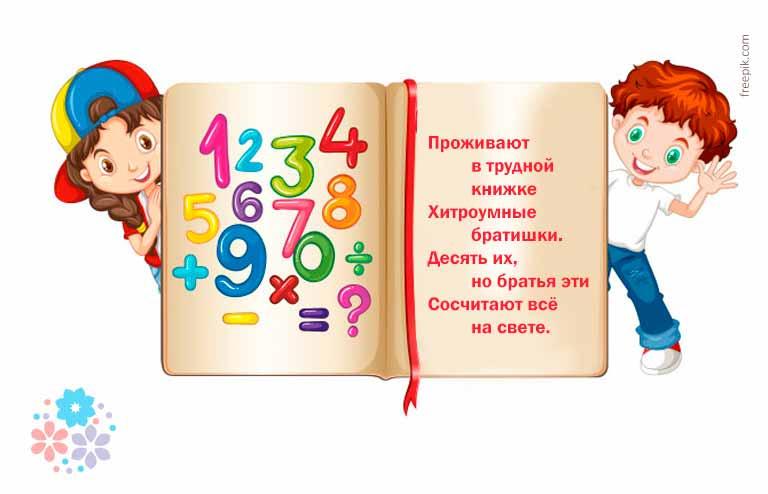 Загадки про цифры в математике