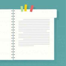 На каких листочках растут слова и точки? Загадки про тетрадь для детей